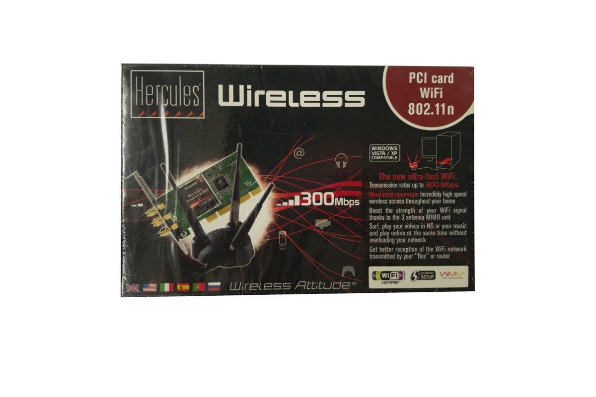 Hercules HWNP-300 PCI WiFi 802.11n 300 Mbps