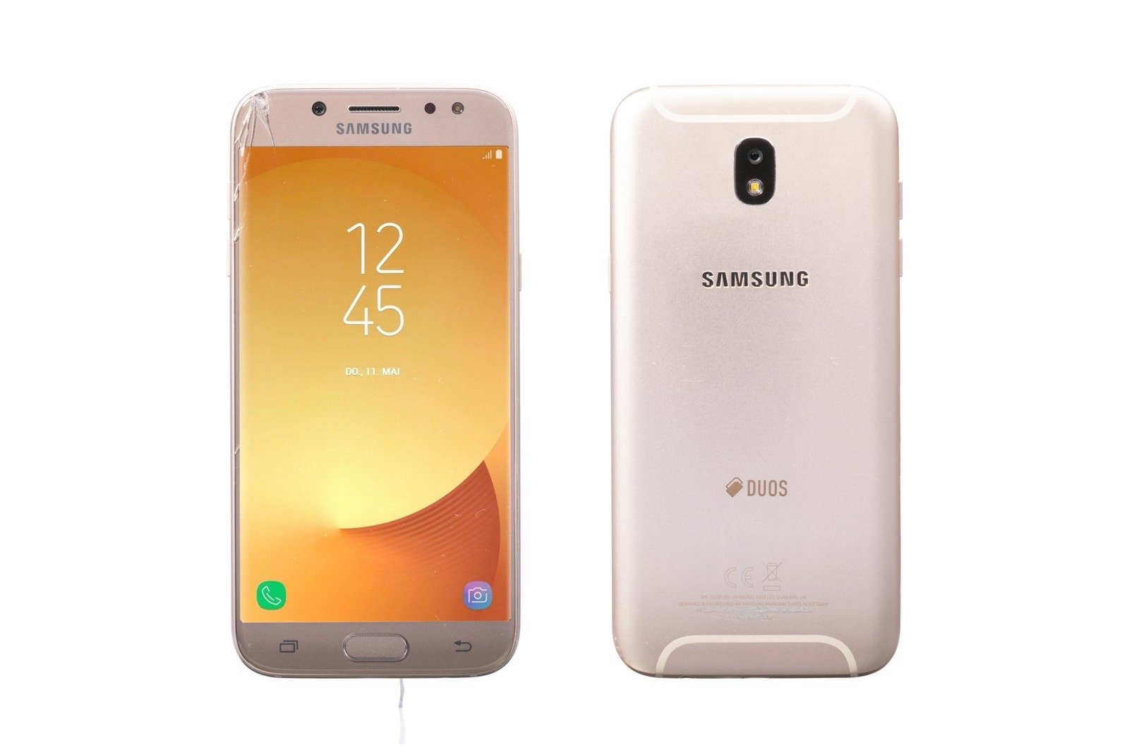 Samsung Galaxy J5 (2017) Gold DUOS SM-J530F/DS Grade C replacement box