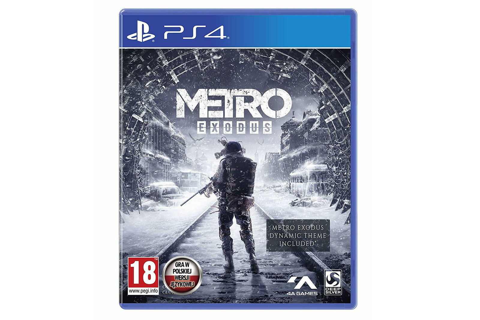 Brand New & Sealed Game PS4 Metro Exodus Day One Edition + Dynamic Theme