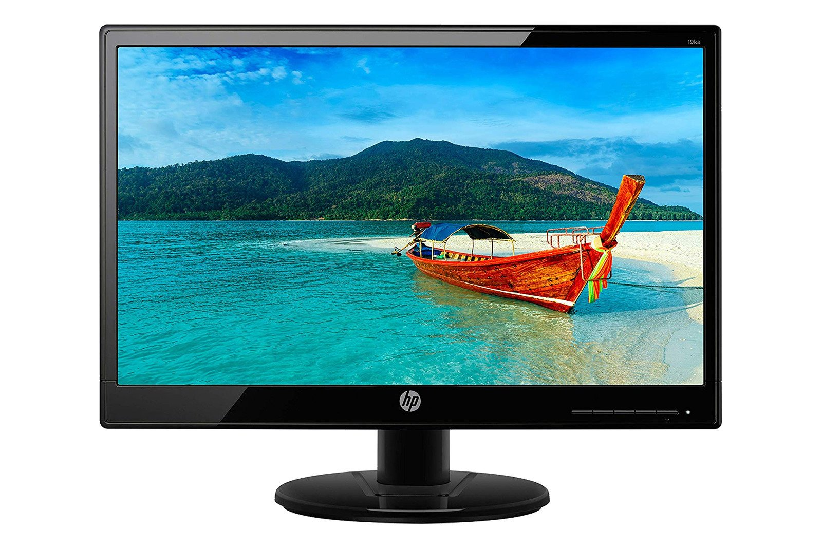 "Display HP 18,5"" 19KA 1366x768 7 ms VGA"