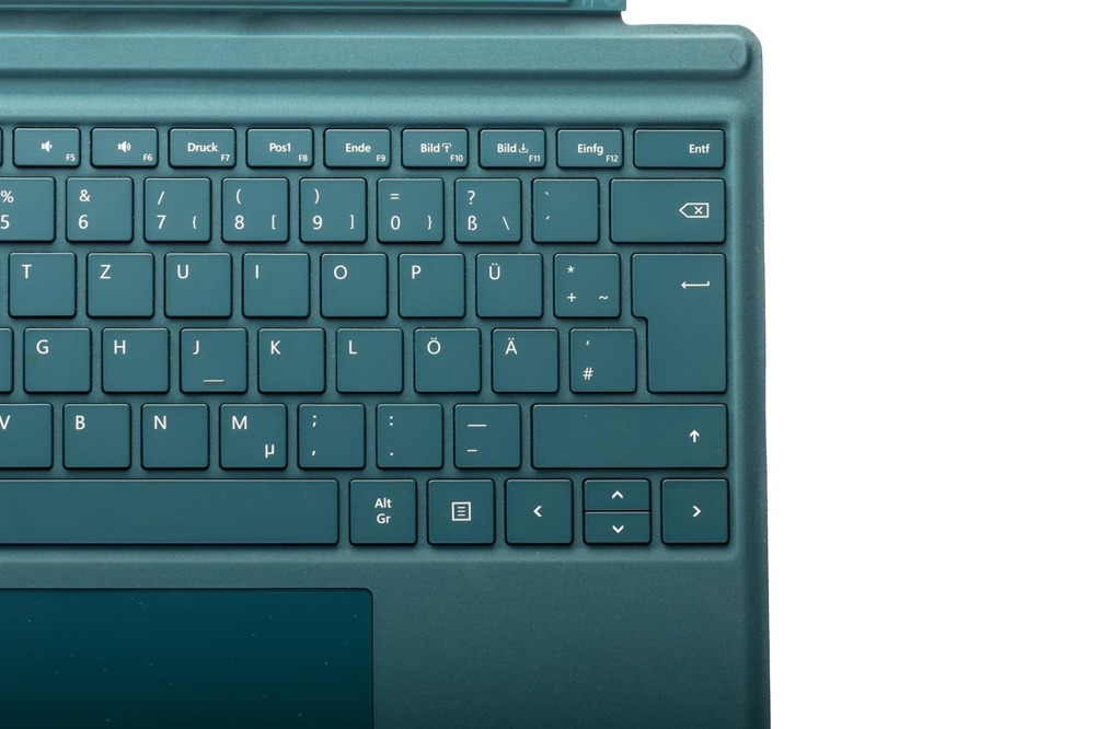 3 Signature Type Cover Teal UK Layout! Microsoft Surface Pro 4
