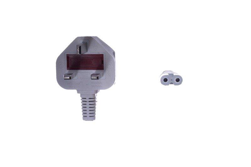 Huan Hsin HS-9 2-pin UK 5A 2m White