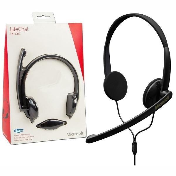 Słuchawki z mikrofonem LiveChat LX-1000 Microsoft